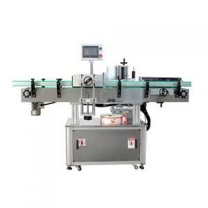 Label Applicator For Front And Back Two Sides