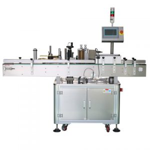 Automatic Double Side Sticker Packing And Labeling Machine