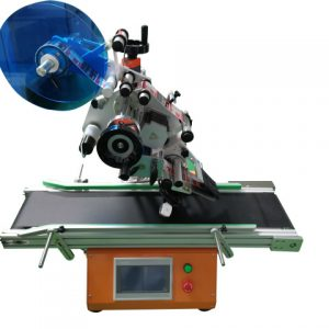 Top And Bottonm Pouch Labeling Machine