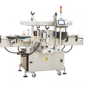 Can Top Side Labeling Machine