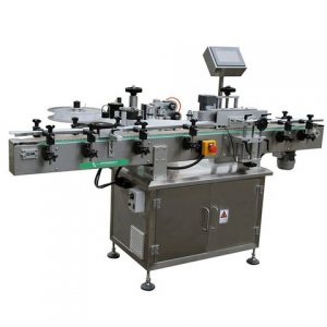High Speed Sticker Labeling Machine For Lubricating Oil