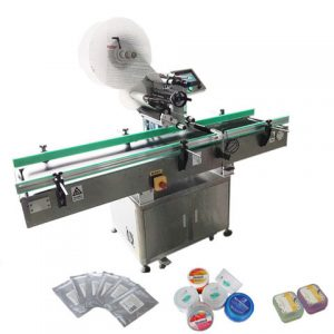 China Plastic Round Bottle Labeling Machine