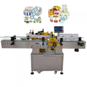 With Printer Automatic Ampoule Bottle Label Applicator