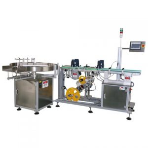 Automatic Horizontal Way Injection Labeling Machine