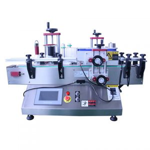 Top Side Labeling Machine For Pickle Bottle