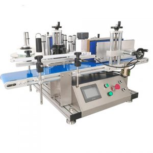 Automatic Top Labeling Machine Round Bottle Label Equipment