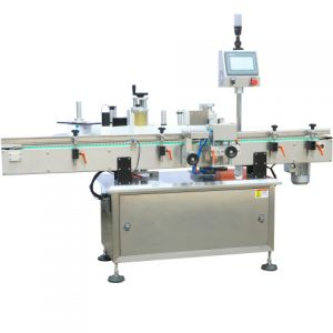 Oil Jar Side And Top Labeling Machine