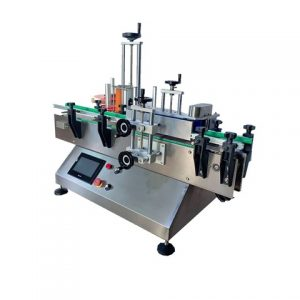 Bopp Adhesive Labeling Machine For Round Water Bottle