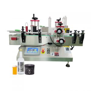 Top Surface Automatic Dumpling Bags Labeling Machine