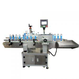 Επισήμανση Μηχανή σήμανσης Οβάλ μπουκάλι επίπεδης φιάλης Lachine